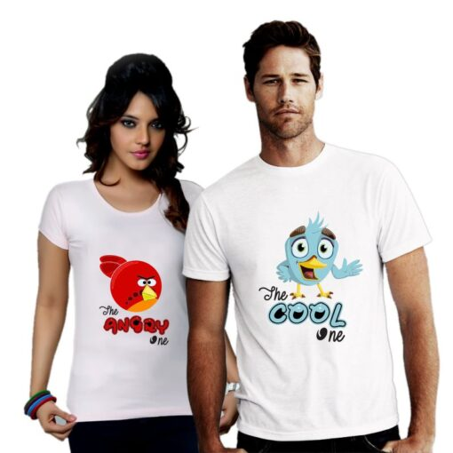 Cool and Angry Couple T shirt