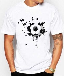 Football Lover White T shirt