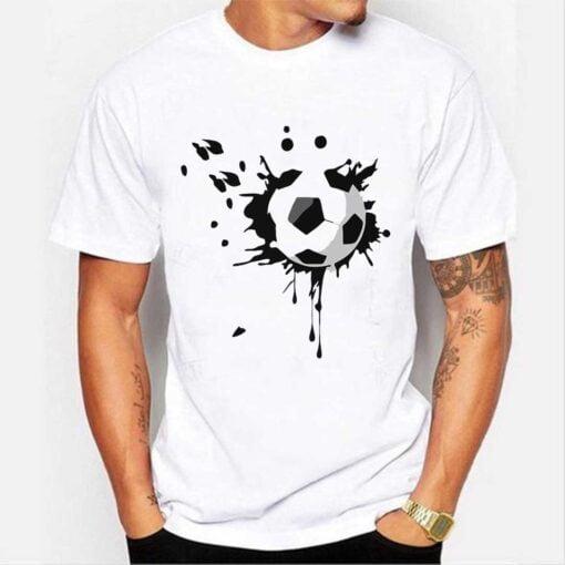 Football Lover White T shirt