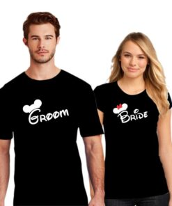 Groom Bride Couple T shirt