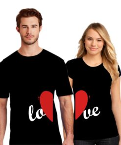 Half Love Couple T shirt