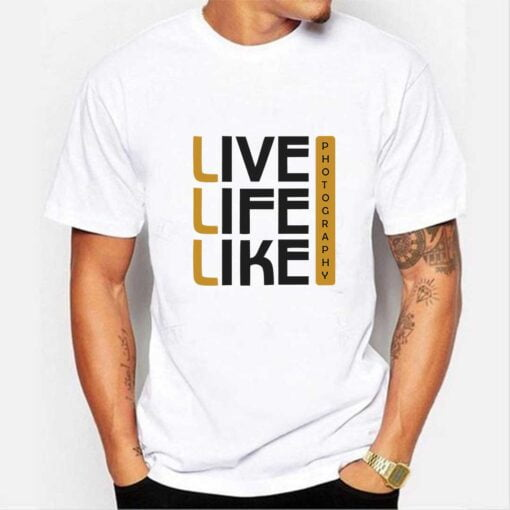 Life Like White T shirt
