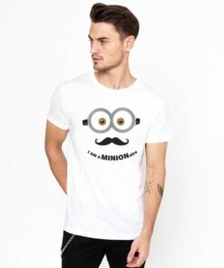 Minion White T shirt
