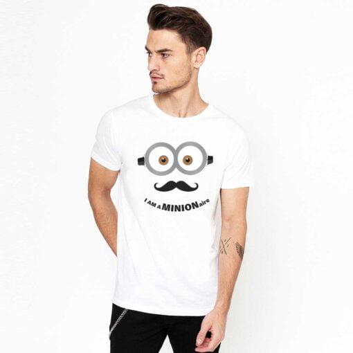 Minion White T shirt