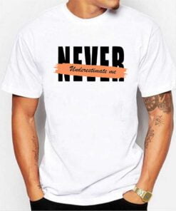 Never White T shirt