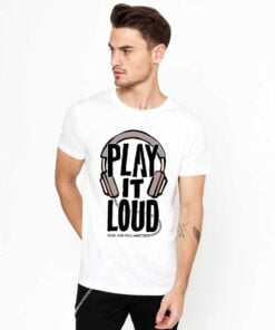 Play It White T shirt