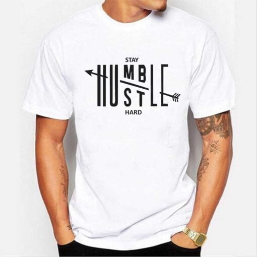 Stay Humble White T shirt