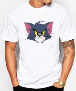 Tom Face White T shirt