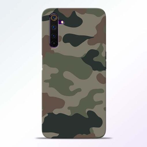Army Camouflage Realme 6 Pro Mobile Cover
