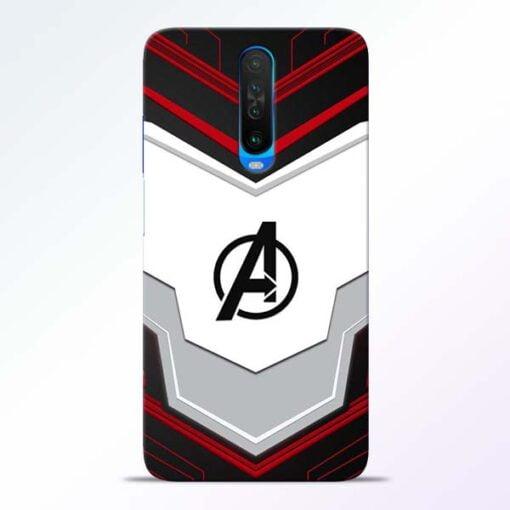 Avenger Endgame Poco X2 Mobile Cover