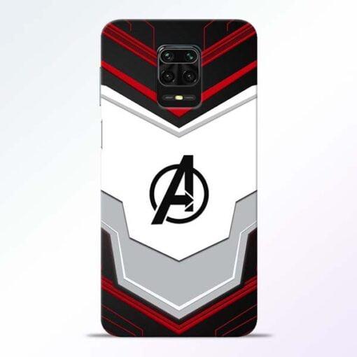 Avenger Endgame Redmi Note 9 Pro Mobile Cover