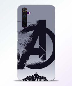 Avengers Team Realme 6 Mobile Cover