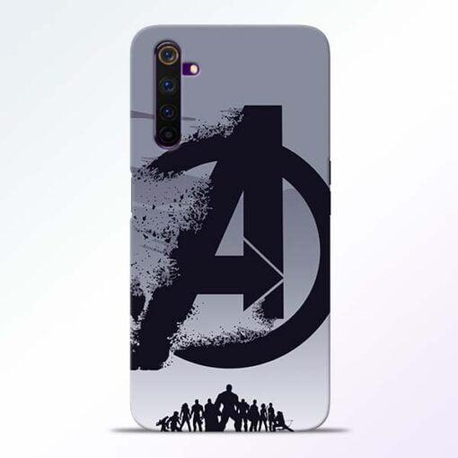 Avengers Team Realme 6 Mobile Cover