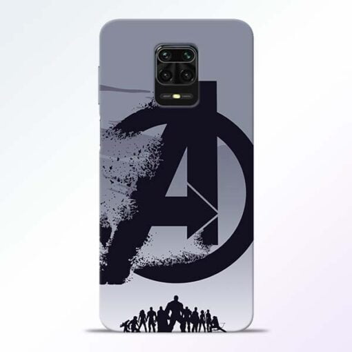 Avengers Team Redmi Note 9 Pro Mobile Cover