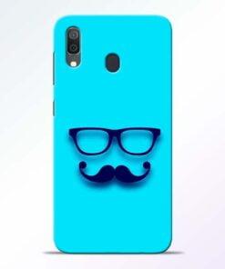 Beard Face Samsung Galaxy A30 Mobile Cover