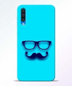 Beard Face Samsung Galaxy A50 Mobile Cover