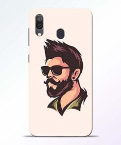 Beard Man Samsung Galaxy A30 Mobile Cover