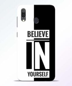 Believe Yourself Samsung Galaxy A30 Mobile Cover
