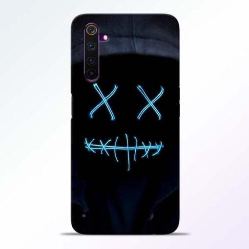 Black Marshmello Realme 6 Pro Mobile Cover