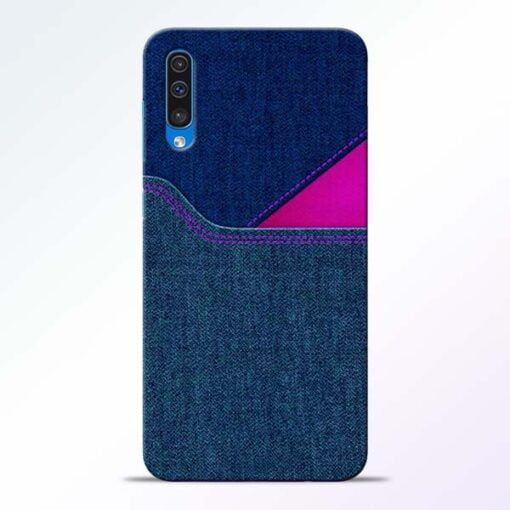 Blue Jeans Samsung Galaxy A50 Mobile Cover