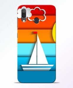 Boat Art Samsung Galaxy A30 Mobile Cover
