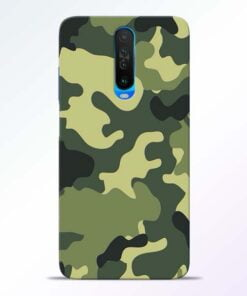 Camouflage Poco X2 Mobile Cover