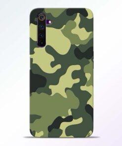 Camouflage Realme 6 Mobile Cover