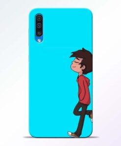 Cartoon Boy Samsung Galaxy A50 Mobile Cover