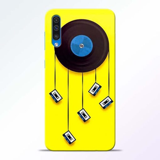 Cassette Tape Samsung Galaxy A50 Mobile Cover