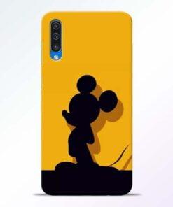 Cute Mickey Samsung Galaxy A50 Mobile Cover