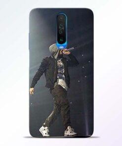 Eminem Style Poco X2 Mobile Cover