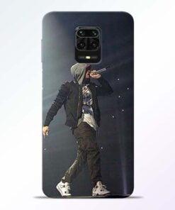 Eminem Style Redmi Note 9 Pro Mobile Cover