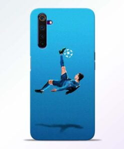 Football Kick Realme 6 Pro Mobile Cover