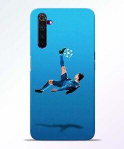Football Kick Realme 6 Pro Mobile Cover
