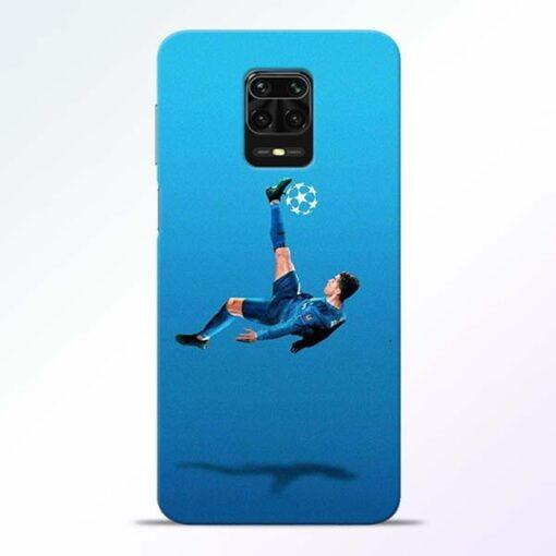 Football Kick Redmi Note 9 Pro Mobile Cover
