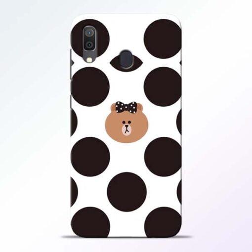 Girl Panda Samsung Galaxy A30 Mobile Cover