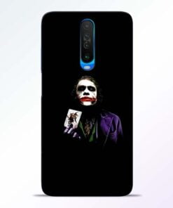 Joker Card Poco X2 Mobile Cover