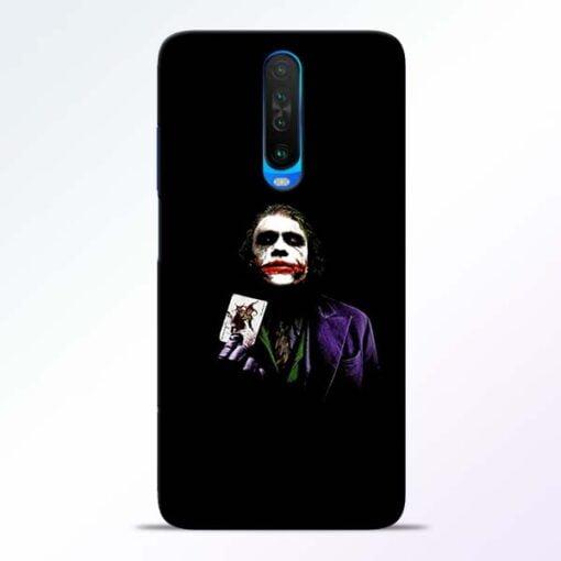 Joker Card Poco X2 Mobile Cover