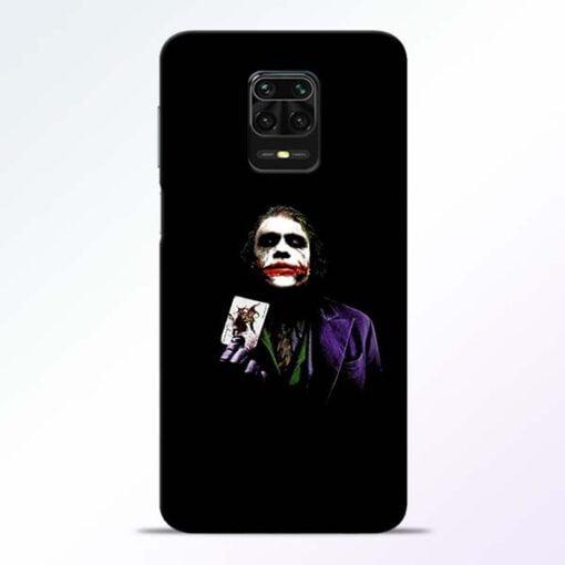 Joker Card Redmi Note 9 Pro Mobile Cover