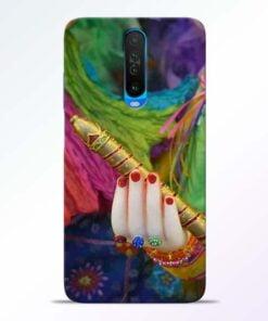 Krishna Hand Poco X2 Mobile Cover