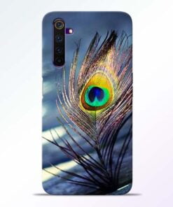 Krishna More Pankh Realme 6 Mobile Cover