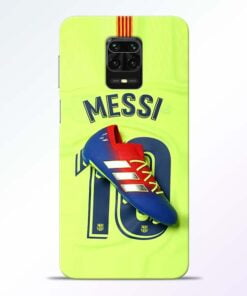 Leo Messi Redmi Note 9 Pro Mobile Cover