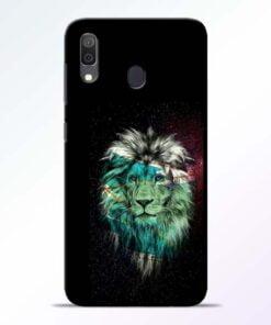 Lion Print Samsung Galaxy A30 Mobile Cover