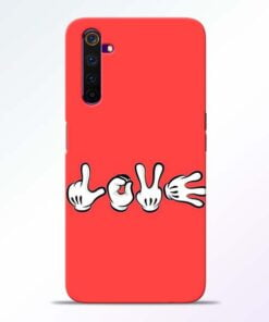 Love Symbol Realme 6 Pro Mobile Cover