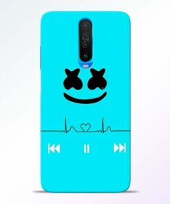 Marshmello Song Poco X2 Mobile Cover