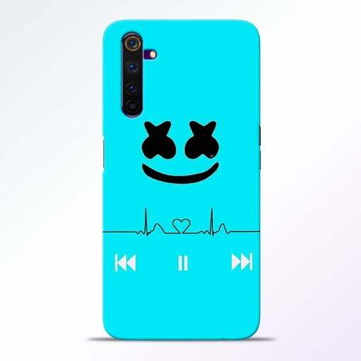 Marshmello Song Realme 6 Mobile Cover