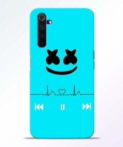 Marshmello Song Realme 6 Pro Mobile Cover