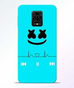 Marshmello Song Redmi Note 9 Pro Mobile Cover