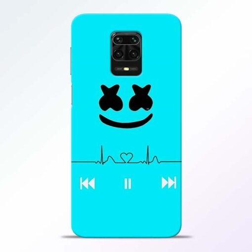 Marshmello Song Redmi Note 9 Pro Mobile Cover