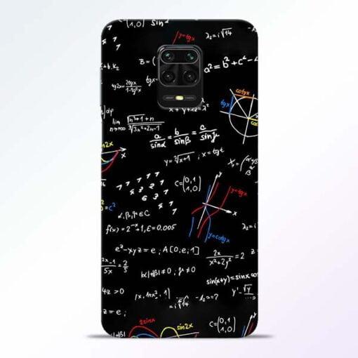 Math Lover Redmi Note 9 Pro Mobile Cover